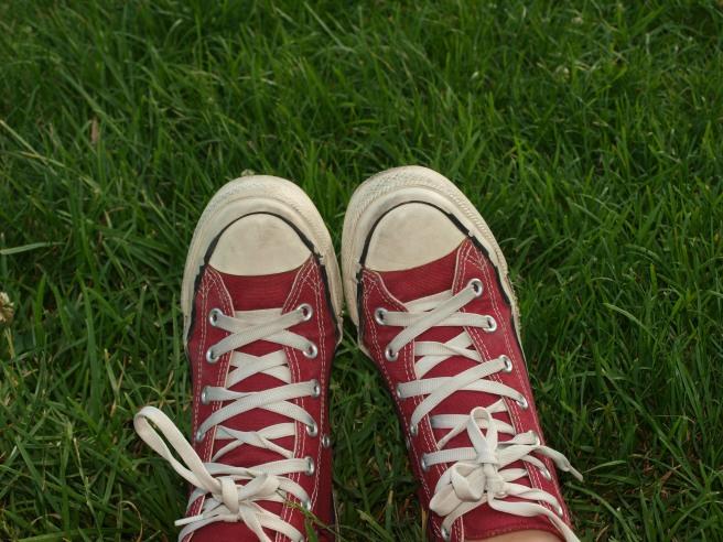 Foto ricordo delle mie scarpe che ho distrutto... Le mie inseparabili compagne di viaggio!